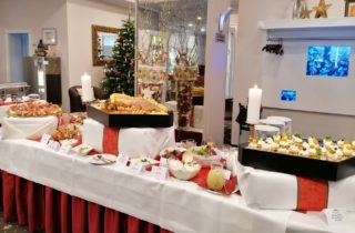 Weihnachtsbuffet Lobby